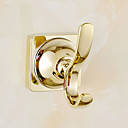 Χαμηλού Κόστους Κρεμάστρες για Μπουρνούζια-Γάντζος για μπουρνούζι Σύγχρονο Ορείχαλκος 1 τμχ - Ξενοδοχείο μπάνιο