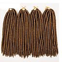 ราคาถูก วิกผมเปีย-Braiding Hair ถักโครเช ฮาวานา หวั่นล็อค Dreadlocks / Faux Locs ผม Kanekalon 100% Kanekalon 24 ราก / แพ็ค Braids ผม ส่วนขยาย Dreadlock Dreads Faux โครเชต์ Dreads faux