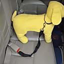 ราคาถูก ปลอกคอ สายจูง สายรัดสำหรับสุนัข-สุนัข เชือกจูงสุนัข สายปรับได้ สำหรับรถยนต์ Safety ไนลอน แดง ฟ้า สีชมพู
