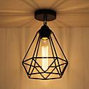 baratos Luminárias de Teto-CXYlight Lanterna Montagem do Fluxo Luz Ambiente Acabamentos Pintados Metal Estilo Mini 110-120V / 220-240V Lâmpada Não Incluída / E26 / E27