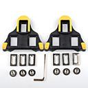 ราคาถูก ที่เหยียบ-PROMEND ปุ่มสตั๊ด XPT / SPD 6 Degree Float กันลื่น ใช้ได้กับ SHIMANO ทนทาน สำหรับ จักรยานใช้บนถนน จักรยาน สังเคราะห์ เหลือง+ดำ สีเหลือง / แดง 2 pcs