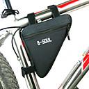 זול תיקים למסגרת האופניים-B-SOUL תיקים למסגרת האופניים משולש מסגרת תיק עמיד ללחות לביש עמיד לזעזועים תיק אופניים פּוֹלִיאֶסטֶר PVC טרילן תיק אופניים תיק אופניים רכיבה על אופניים / אופנייים / רוכסן חסין למים