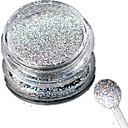 billige Negleglitter-1pc Akrylpulver / Pudder / Glitter Powder Glitrende / Laser Holografisk Nail Art Design