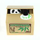 billige Sparegriser-Itazura sparegriser Møntholder Stjelende sparegris Nuttet Elektrisk Panda Plast Voksne Gutt Jente Leketøy Gave