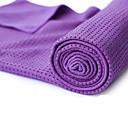 billiga Yoga- och Pilatestillbehör-Yogahandduk Luktfri Miljövänlig Glidfri Microfiber för Yoga Pilates Bikram 183*63*0.5 cm Purpur Orange Grön