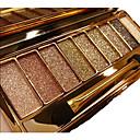 baratos Sombras-12 cores Sombra para Olhos Pós Olhos Fosco Brilho Espelho Tampa de Abertura Única Glitter Brilhante esfumaçado Gloss Colorido Longa Duração Natural Maquiagem para o Dia A Dia Maquiagem para Dias das