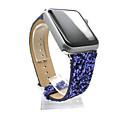 billiga Nageltorkare och lampa-Klockarmband för Apple Watch Series 5/4/3/2/1 Apple Klassiskt spänne Äkta Läder Handledsrem