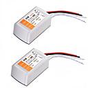 Χαμηλού Κόστους Τροφοδοτικό-Μετασχηματιστής τάσης 2pcs AC 110-240v έως DC 12v 18w
