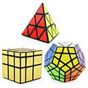 Χαμηλού Κόστους Μαγικοί κύβοι-3 ΤΕΜΑΧΙΑ Magic Cube IQ Cube Shengshou Pyraminx Alien Megaminx Ομαλή Cube Ταχύτητα Μαγικοί κύβοι Κατά του στρες παζλ κύβος επαγγελματικό Επίπεδο Ταχύτητα Επαγγελματικό Κλασσικό & Διαχρονικό