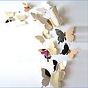 billiga Väggklistermärken-Djur Väggklistermärken Väggklistermärke i spegelstil Dekrativa Väggstickers, Vinyl Hem-dekoration vägg~~POS=TRUNC Vägg