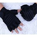 Χαμηλού Κόστους Προστατευτικός Εξοπλισμός-Κοντό Δάχτυλο Πολυαιθουράνιο PU Μοτοσικλέτες Γάντια