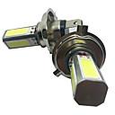 זול תאורה קדמית לרכב-2pcs h4 30w רכב נורות cob 2800lm פנס / ערפל אור