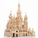 Χαμηλού Κόστους Μοντέλα και μοντέλα-Παζλ 3D Παζλ Ξύλινα παζλ Κάστρο Διάσημο κτίριο Αγία Πετρούπολη Φτιάξτο Μόνος Σου Προσομοίωση Ξύλινος 1 pcs Παιδικά Ενηλίκων Αγορίστικα Κοριτσίστικα Παιχνίδια Δώρο / Ξύλινα μοντέλα