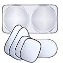 billiga Solskydd och -skärmar till bilen-bilfönster solskydd bil vindruta visir täcka block framfönster solskydd uv skydda bilfönsterfilm 6st / set