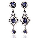 povoljno Naušnice-Žene Okrugle naušnice Moda Naušnice Jewelry Plava Za Vjenčanje
