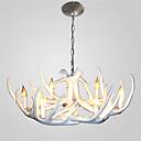 Χαμηλού Κόστους Σχέδιο στυλ κεριών-JSGYlights 6-Light Πολυέλαιοι Ατμοσφαιρικός Φωτισμός Άλλα Ρητίνη Mini Style 110-120 V / 220-240 V / E12 / E14