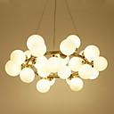 povoljno Lusteri-Klastera Privjesak Svjetla Ambient Light Electroplated Metal Glass Mini Style 110-120V / 220-240V Bulb Included / G4