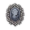 Χαμηλού Κόστους Σκουλαρίκια-Γυναικεία Καρφίτσες κυρίες Βίντατζ Κρύσταλλο Καρφίτσα Κοσμήματα Ασημί Για Πάρτι Καθημερινά Causal