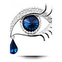 Χαμηλού Κόστους Μοδάτες Καρφίτσες-Γυναικεία Μπορντώ Καρφίτσες Πασιέντζα Στρόγγυλα κυρίες Εξατομικευόμενο Μοντέρνα Καθημερινό Κρύσταλλο Καρφίτσα Κοσμήματα Μπλε Χρυσό / Μαύρο Χρυσό / Μπλε Για Πάρτι Καθημερινά Causal