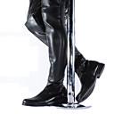 olcso Férfi csizmák-Férfi Fashion Boots Szintetikus Ősz / Tél Motoros csizmák Csizmák Hosszú szárú csizmák Fekete / Party és Estélyi