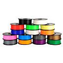 povoljno 3D printeri-Anet 3d printer nit 1.75mm / 3mm pla za 3D ispis (1pcs, slučajnim boja)