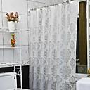 זול וילונות למקלחת-וילונות מקלחת מודרני PEVA פרחוני עשוי במכונה