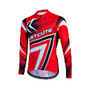 cheap Cycling Shoes-Fastcute Men's Women's Long Sleeve Cycling Jersey Plus Size Bike Sweatshirt Jersey Top Mountain Bike MTB Road Bike Cycling Breathable Quick Dry Reflective Strips Sports Coolmax® 100% Polyester