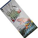 Χαμηλού Κόστους Αγκίστρια-1 pcs Φωτίζει Bass Τρώκτης Λούτσος Θαλάσσιο Ψάρεμα Δολώματα πετονιάς Ψάρεμα Πάγου Σιλικόνη Ανθρακοχάλυβας / Ψάρεμα Γλυκού Νερού / Γενικό Ψάρεμα
