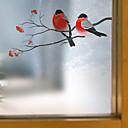 Χαμηλού Κόστους Αυτοκόλλητα Τοίχου-Window Film & αυτοκόλλητα Διακόσμηση Σύγχρονο Ζώο PVC / Vinyl Μεμβράνη παραθύρου