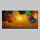 povoljno Slike sa životinjskim motivima-Hang oslikana uljanim bojama Ručno oslikana - Cvjetni / Botanički Moderna With Frame / Prošireni platno