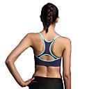 Χαμηλού Κόστους Ρούχα τρεξίματος-Γυναικεία Αθλητικό σουτιέν Αθλητικά Σουτιέν Με σπορ πλάτη Spandex Zumba Γιόγκα Τρέξιμο Αναπνέει 3D Pad Γρήγορο Στέγνωμα Ενισχυμένο Suport Ușor / Υψηλή Ελαστικότητα / Patchwork
