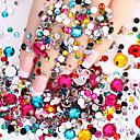 billiga Bergkristall&Dekorationer-2000 pcs Nagelsmycken nagel konst manikyr Pedikyr Dagligen Glitters / Mode / Nail Smycken / ABS