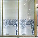 billige Kunsthåndverk-Vindufilm og klistremerker Dekorasjon Moderne Art Deco Pvc / Vinyl Vindusklistremerke / Spisestue / Soverom / Kontor / Barnerom / Stue