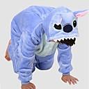 ราคาถูก ชุดนอน Kigurumi-สำหรับเด็ก Kigurumi Pajama มอนสเตอร์สีน้ำเงิน Onesie Pajama Polar Fleece ฟ้า คอสเพลย์ สำหรับ เด็กชายและเด็กหญิง สัตว์ชุดนอน การ์ตูน Festival / Holiday เครื่องแต่งกาย