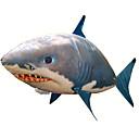 ราคาถูก ดาราศาสตร์ของเล่นและโมเดล-RC Shark สัตว์ควบคุมระยะไกล บินฉลาม ปลาตัวตลก Inflatable การเคลื่อนไหวที่สมจริง นักว่ายน้ำอากาศ ไนลอน 1 pcs ทุกเพศ Toy ของขวัญ / CE