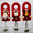 povoljno Božićni ukrasi-dizajn je slučajno božićno drvce ukras ornamentima božićno kućište ukrašavanje santa klaus snjegović revera
