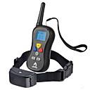 ราคาถูก ของประดับตกแต่งงานแต่งงาน-สุนัข เห่าปลอกคอ Dog Training Collars กันน้ำ ป้องกันเปลือก LCD สีพื้น ไนลอน สีดำ