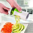 olcso Gyümölcs & zöldségkészletek-zöldség spiralizer gyümölcs reszel spirál szeletelő vágó spiralizer sárgarépa uborka konyha
