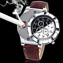 ราคาถูก นาฬิกากีฬา-สำหรับผู้ชาย นาฬิกาข้อมือ นาฬิกาอิเล็กทรอนิกส์ (Quartz) หนัง ดำ / น้ำตาล Creative เท่ห์ Punk ระบบอนาล็อก ความหรูหรา คลาสสิก วินเทจ ไม่เป็นทางการ แฟชั่น - สีดำ สีน้ำตาล หนึ่งปี อายุการใช้งานแบตเตอรี่