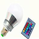ราคาถูก ชุดแปรงแต่งหน้า-1pc 8 W หลอดสมาร์ท LED 350-450 lm E14 GU10 E26 / E27 G80 1 ลูกปัด LED Integrate LED หรี่แสงได้ ควบคุมด้วยรีโมท คอนโทรล ตกแต่ง RGB 85-265 V / 1 ชิ้น / RoHs