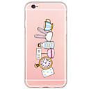 ราคาถูก ผ้าคลุมโซฟา-Case สำหรับ iPhone 6s Plus / iPhone 6 Plus / iPhone 6s iPhone 6s Plus / iPhone 6s / iPhone 6 Plus Ultra-thin / โปร่งแสง ปกหลัง การ์ตูน Soft TPU
