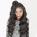 Χαμηλού Κόστους Εξτένσιος μαλλιών με φυσικό χρώμα-Φυσικά μαλλιά Πλήρης Δαντέλα Περούκα στυλ Βραζιλιάνικη Κυματιστό Περούκα με τα μαλλιά μωρών Φυσική γραμμή των μαλλιών Περούκα αφροαμερικανικό στυλ 100% δεμένη στο χέρι Γυναικεία Κοντό Μεσαίο Μακρύ