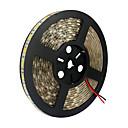 Χαμηλού Κόστους Φωτιστικά Λωρίδες LED-KWB 5m Ευέλικτες LED Φωτολωρίδες 300 LEDs 5050 SMD Θερμό Λευκό / Άσπρο / Κόκκινο Μπορεί να κοπεί / Συνδέσιμο / Κατάλληλο για Οχήματα 12 V / Αυτοκόλλητο / IP44