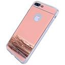ราคาถูก เคสสำหรับ iPhone-Case สำหรับ Apple iPhone 7 Plus / iPhone 7 / iPhone 6s Plus Mirror ปกหลัง อื่นๆ / สีพื้น Hard พีซี