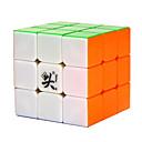 billiga Magiska kuber-Magic Cube IQ-kub DaYan 3*3*3 Mjuk hastighetskub Magiska kuber Stresslindrande leksaker Pusselkub professionell nivå Hastighet Professionell Klassisk & Tidlös Barn Vuxna Leksaker Pojkar Flickor