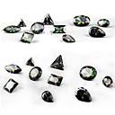 billiga Bergkristall&Dekorationer-10 pcs Nagelsmycken nagel konst manikyr Pedikyr Dagligen Glitters / Mode / Nail Smycken