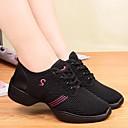 Χαμηλού Κόστους Αθλητικά Χορού-Γυναικεία Παπούτσια Χορού Ύφασμα Παπούτσια Χορού / Μοντέρνα παπούτσια Κορδόνια Αθλητικά Επίπεδο Τακούνι Μη Εξατομικευμένο Λευκό / Μαύρο / Ροζ / Επίδοση / EU40