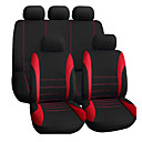 billige Setetrekk til bilen-bilsete deksel interiør tilbehør airbag kompatibel autoyouth sete deksel for lada volkswagen rød blå grå sete beskytter