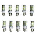 Χαμηλού Κόστους Smart Wristbands-10pcs 10 W LED Λάμπες Καλαμπόκι 850-950 lm E14 G9 GU10 Σωλήνας 69 LED χάντρες SMD 5730 Αδιάβροχη Διακοσμητικό Θερμό Λευκό Ψυχρό Λευκό 220-240 V 110-130 V / 10 τμχ / RoHs