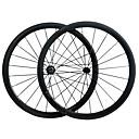 ราคาถูก ล้อจักรยาน-700CC ชุดล้อ จักรยาน 23 mm ถนน คาร์บอน / เต็มคาร์บอน ยางงัด 16-32# Spokes 38 mm